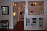 Built ins with charm and that craftsman character sold this home.